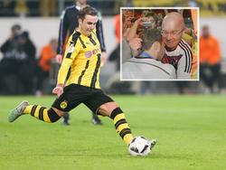 Mario Götzes Vater Jürgen (r.) hat zur Krankheit seines Sohnes Stellung genommen