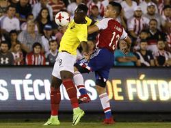 Caicedo descontó contra Paraguay pero no pudo evitar la derrota. (Foto: Imago)
