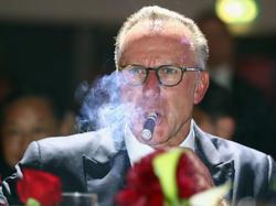 Karl-Heinz Rummenigge ärgerte sich immer noch über das CL-Aus in Madrid