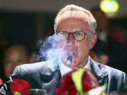 Karl-Heinz Rummenigge ist mit den Aussagen von Ralph Hasenhüttl alles andere als glücklich