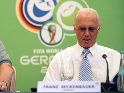 2006 noch unantastbar: Franz Beckenbauer