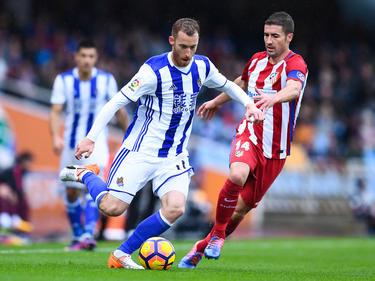 Atlético stolperte gegen San Sebastian
