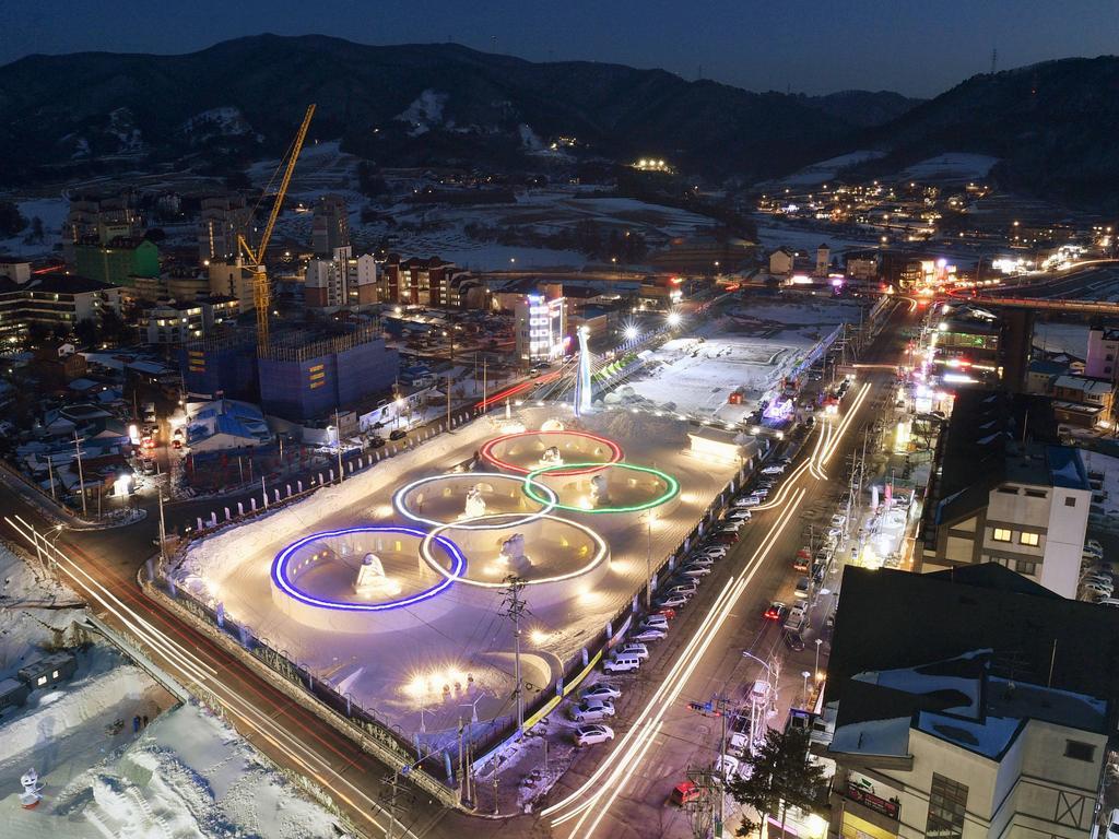 95% der Olympiastadien sind fertig gebaut