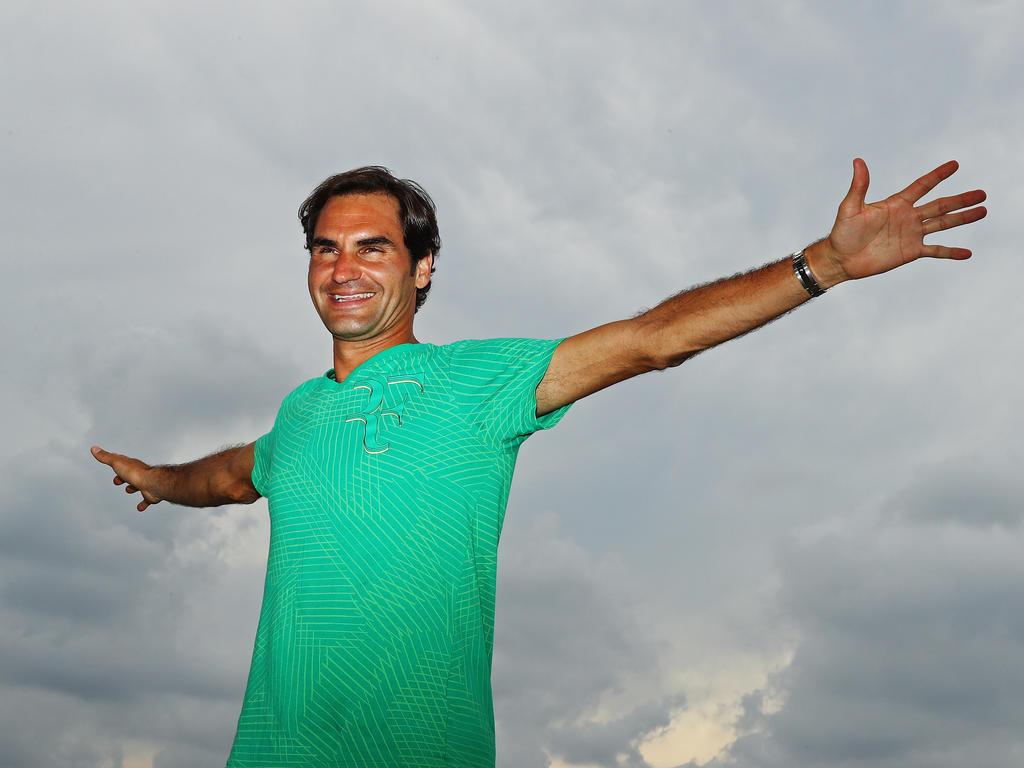 Nach Pause Roger Federer für Stuttgart fit