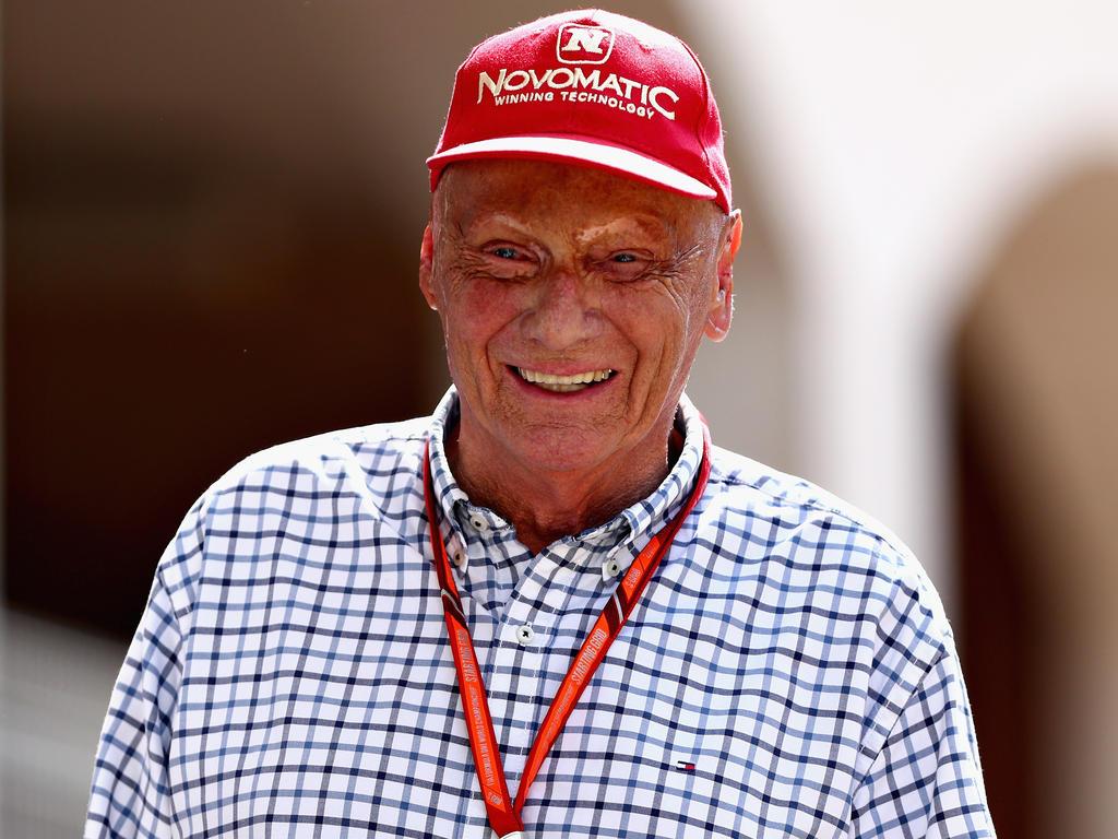 Niki Lauda Kappe