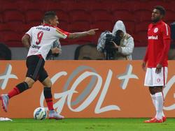 In seinem ersten Spiel für Flamengo erzielt Paolo Guerrero direkt einen Treffer