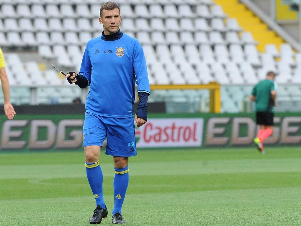 EURO News Ukraine put trust in debutant Shevchenko
