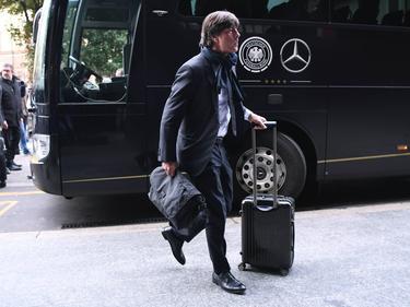 Bundestrainer Joachim Löw will mit der DFB-Elf gegen Italien gewinnen