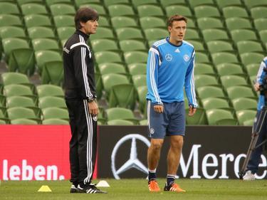 Max Kruse (r.) winkt Rückkehr ins Nationalteam