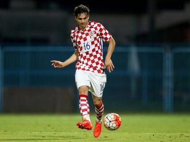 Filip Krovinović con la camiseta de Croacia Sub-21. (Foto: Imago)