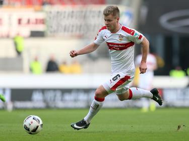 Jean Zimmer läuft in der Saison 2017/18 für Fortuna Düsseldorf auf