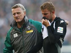 Christoph Kramer erlitt gegen Stuttgart einen Nasenbeinbruch