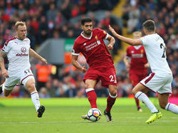 Emre Can trifft mit Liverpool auf Leicester City