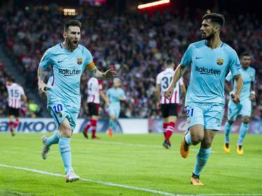 Messi ya lleva 12 tantos en esta temporada. (Foto: Getty)