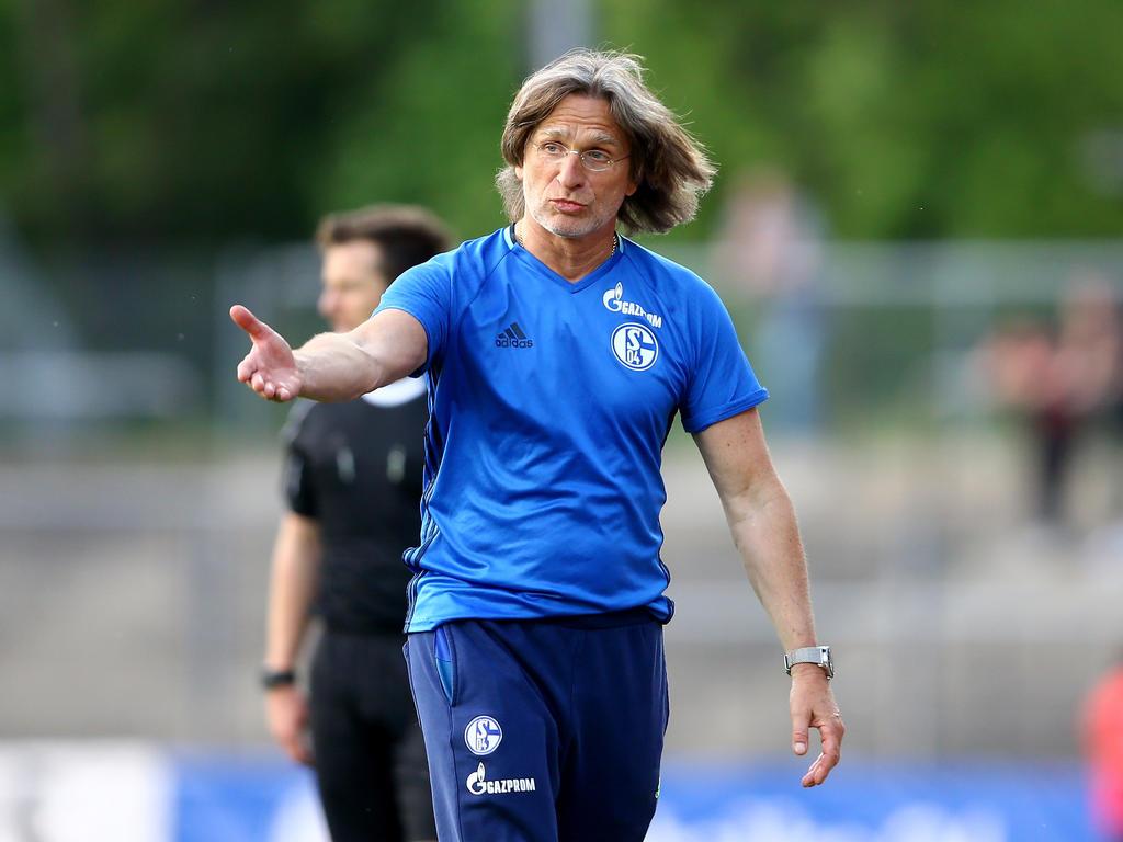Norbert Elgert ist seit mehr als 20 Jahren Trainer von Schalkes U19