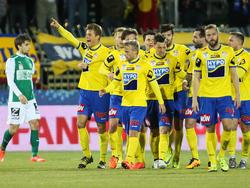 Mit einem 2:1-Erfolg beim SV Mattersburg zog der SKN St. Pölten ins ÖFB-Cup-Halbfinale ein