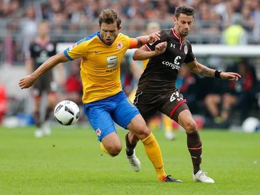 Braunschweig hat sich gegen St. Pauli durchgesetzt