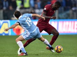 Senad Lulić hat Antonio Rüdiger nach dem Römer Derby beleidigt