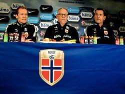 Lars Lagerbäck (Mitte) will mit Norwegen noch einiges erreichen