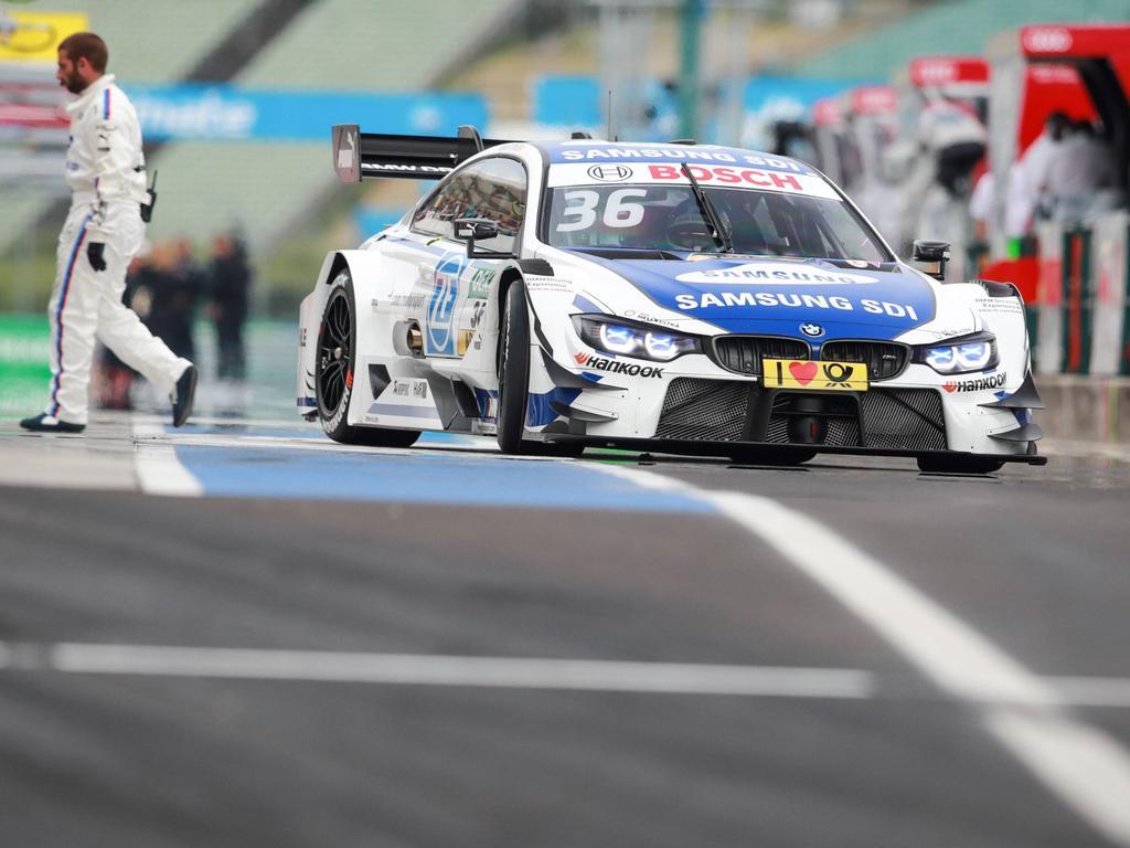 Mercedes-Pilot Di Resta gewinnt fünften DTM-Lauf in Budapest
