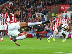 Eric Maxim Choupo-Moting und Stoke setzten sich gegen Arsenal durch