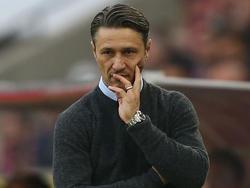 Frankfurt-Coach Niko Kovač reist ersatzgeschwächt mit seinem Team nach Hannover