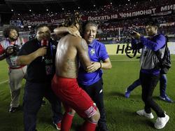 Trainer Hernán Gómez und sein Team fahren zur WM nach Russland
