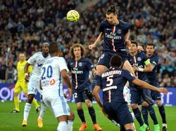 Der Mann des Abends in Paris: Zlatan Ibrahimović