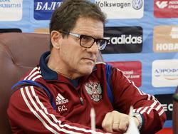 Fabio Capello ist mit Russland gegen Österreich bereits unter Zugzwang