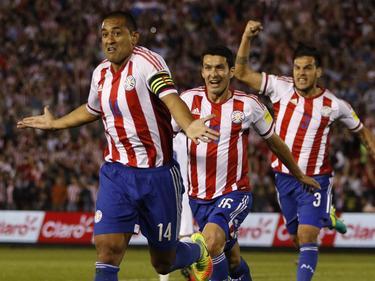 Paraguay es octava en la clasificación para el Mundial de Rusia. (Foto: Imago)