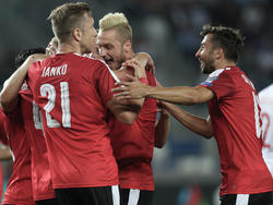 """""""Wir haben den Sieg als Mannschaft gebraucht"""", sagte der Assistgeber zum 2:0 Marko Arnautović"""