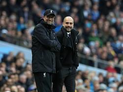Guardiola y Klopp se conocen de la Bundesliga. (Foto: Getty)