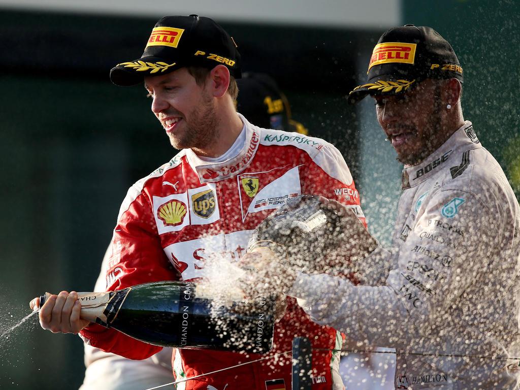 Sind Lewis Hamilton und Sebastian Vettel bald Teamkollegen