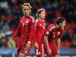 Yussuf Poulsen, Jannik Vestergaard und Andreas Christensen gehören zum dänischen Aufgebot