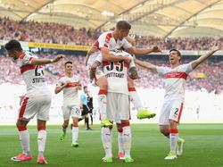 Der VfB Stuttgart sichert sich die Meisterschaft der 2. Bundesliga