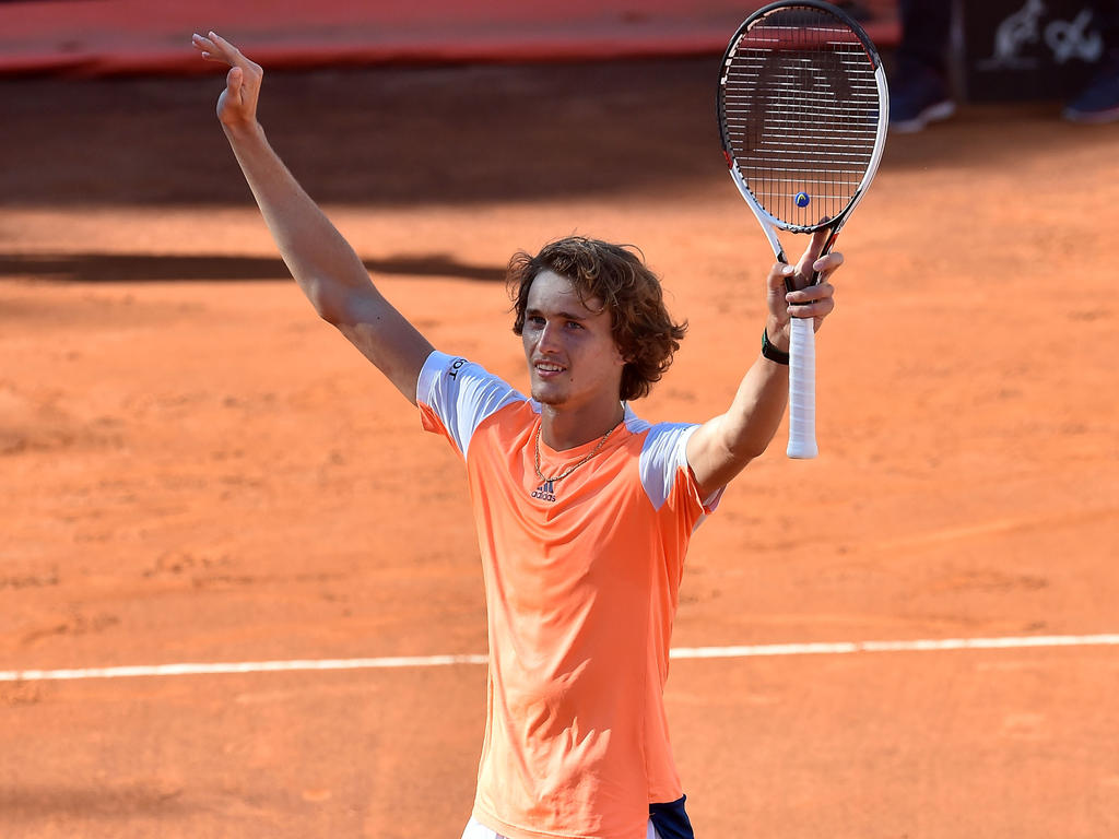 Alexander Zverev erreicht Halbfinale in Rom