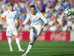 Erzielte kurz vor Schluss das 2:1 für Real: Cristiano Ronaldo