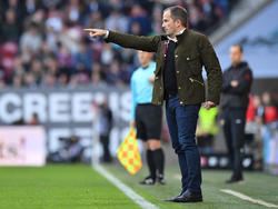 Will den Bayern Paroli bieten: Manuel Baum