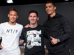 Neymar, Messi und Ronaldo verdienen nicht schlecht