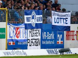 Die Fans von Lotte freuen sich auf den VfL Osnabrück
