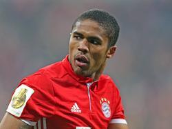 Douglas Costa war beim Sieg gegen Wolfsburg Matchwinner der Bayern