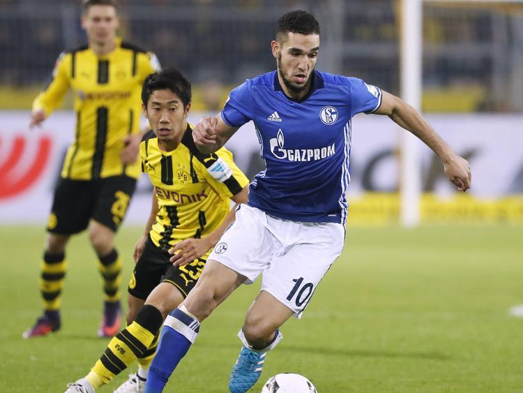 Nabil Bentaleb (vorn) bezeichnet sich selbst als Vollblut-Schalker