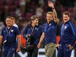 Jürgen Klinsmann kann sich seiner Beliebtheit in den USA nicht mehr sicher sein