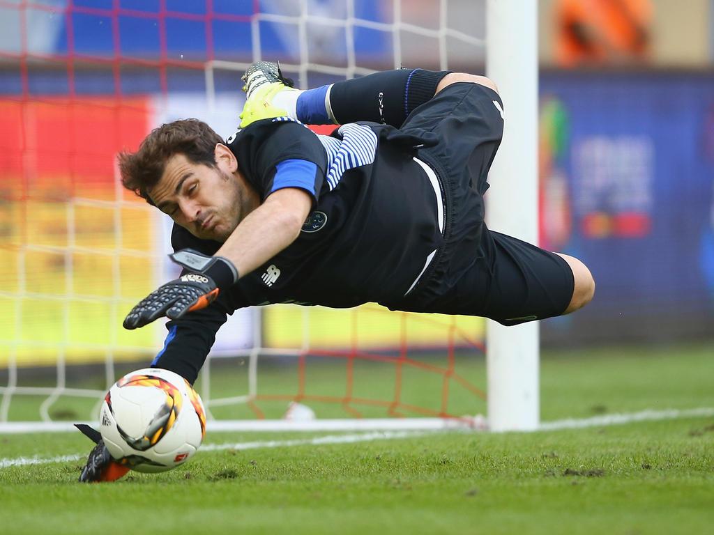 Platz 1: Iker Casillas - 56 Partien ohne Gegentreffer in 164 Einsätzen