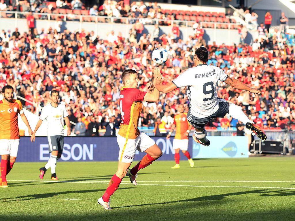 Zlatan Ibrahimović traf früh zur Führung