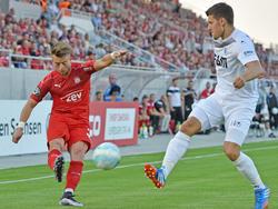Der FSV Zwickau und der 1. FC Magdeburg trennen sich mit einem torlosen Remis