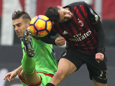 Milan hatte Mühe, den Tabellenletzten zu bezwingen