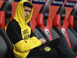 Mikel Merino kommt bei Borussia Dortmund nur selten zum Zug