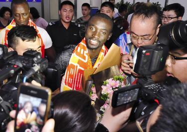 Papiss Demba Cissé geht nun in China auf Torejagd
