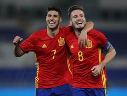 Asensio und Saúl sind vor dem Finale gegen Deutschland bester Laune